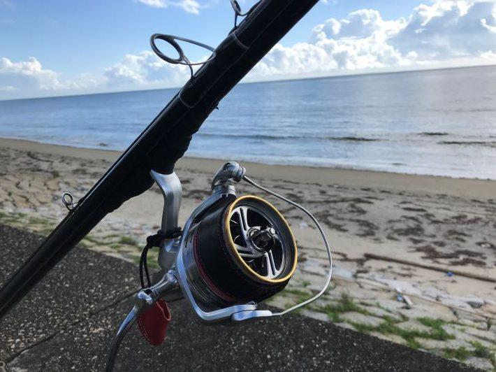 香良洲海岸キス釣り