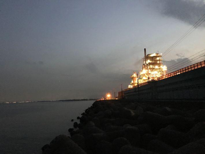 日本鋼管メバル釣り
