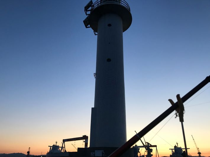 日本鋼管 灯台